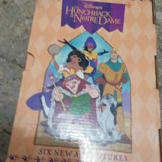 Disney books the Hunchback of the Notredame