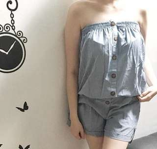Catlyna Jumpsuit Denim