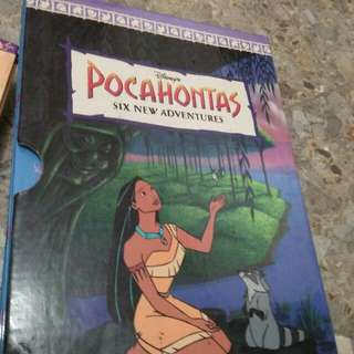 Disney's books of pocahontas