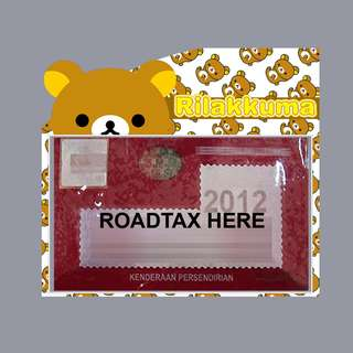 Road Tax Sticker - Rilakkuma