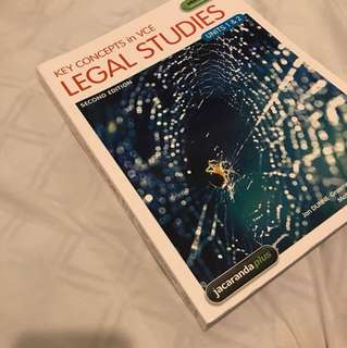 Jacaranda Plus Legal Studies UNITS 1-2