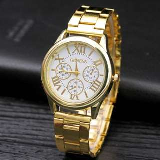 GENEVA Gold Wristwatch
