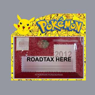 Road Tax Sticker - Pokemon