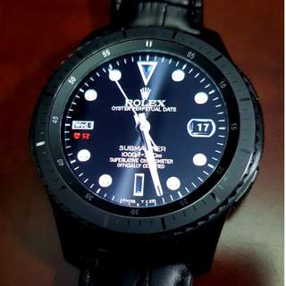 Used Samsung Gear S3 - Frontier Not-LTE ver (Everything for S$350)