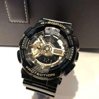 95%新 G-Shock 別注 黑金 指針款