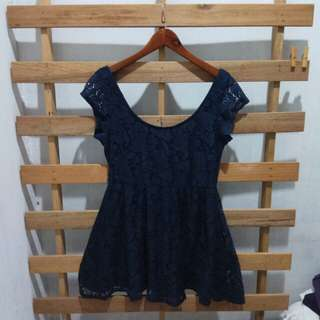Cotton on lace dress