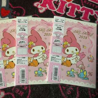 My Melody 2018 Planner