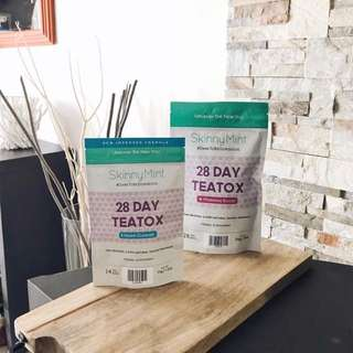 $50 only! Skinnymint teatox