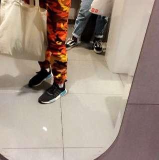 Orange camo pants similar to I.am.gia