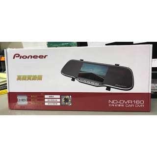 Ploneer DVR160先鋒前後行車記錄儀