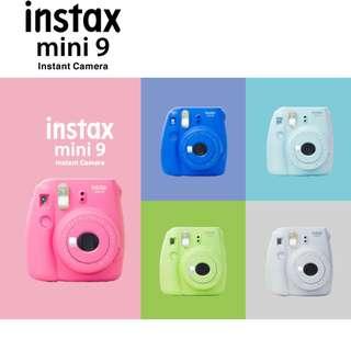 Fujifilm Instax Mini 9 Polaroid Instant Camera