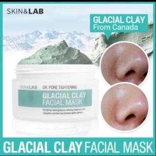 Skin & Lab Glacier Clay Facial Mask