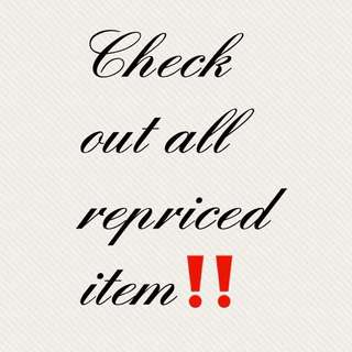 All repriced Item