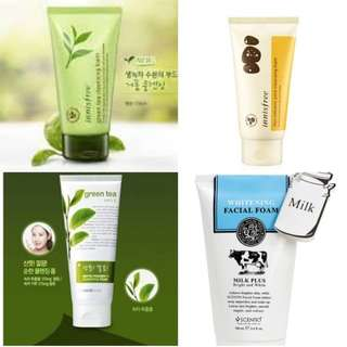 [Innisfree/ TFS] Cleansing Foam (Green Tea/ Jeju Volcanic Pore/ green tea phyto powder) 150ml
