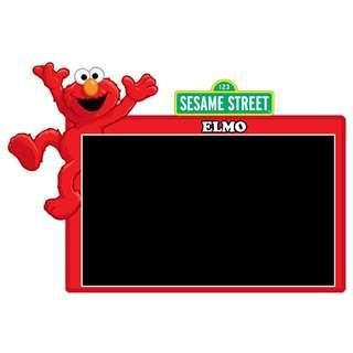 Road Tax Sticker Sesame Street - Elmo
