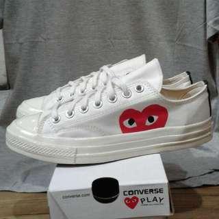 Sepatu converse AS play low of white BNIB bandung
