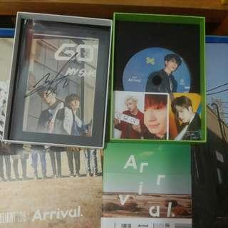 GOT 7  Ever專輯改版 Mark親筆簽名