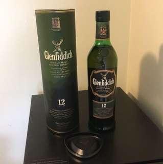 12 y.o. Glenfiddich Single Malt Scotch Whisky