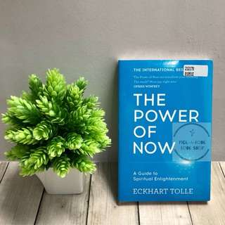 [Ready Stock] The Power of Now: a Guide To Spiritual Enlightenment - Eckhart Tolle