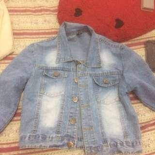 Jaket Crop Jeans
