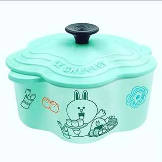 LE CREUSET For Line Friends CONY 花形鍋
