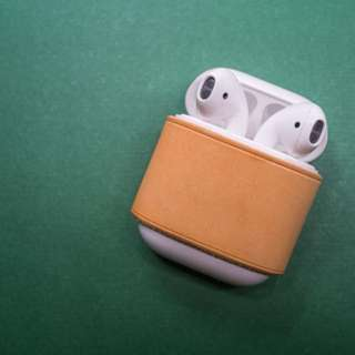 AirPods 保護套 leather cover