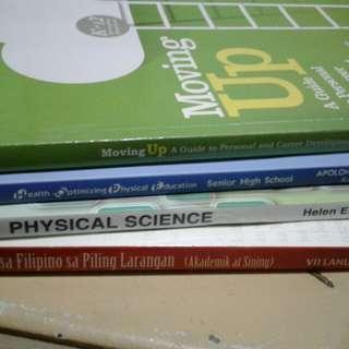 Grade 12- Senior Highschool Books