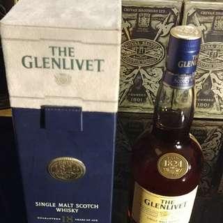 Glenlivet 18 years whisky 威士忌