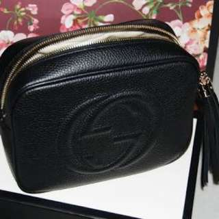 Black Gucci bag