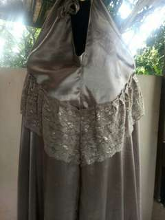 Mukena Baby Silk - Mocca