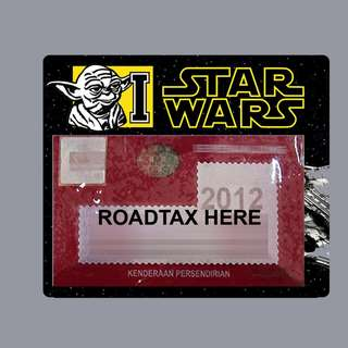 Road Tax Sticker Star Wars - Yoda