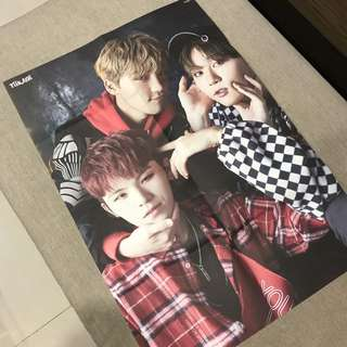 Seventeen Teen Age special poster (folded)