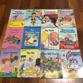 Reading Bee Children Books (3pc for each tittles)