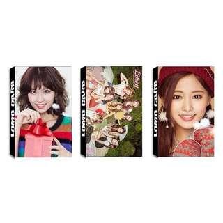 Twice LIKEY lomo cards