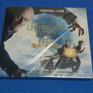 """二手 VCD 尼蒙利斯連環不幸事件 Movie """"A Series of unfortunate events"""""""