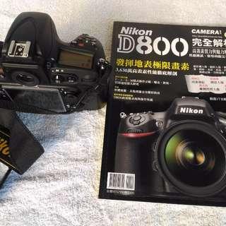Nikon D800相機含鏡頭Kit組