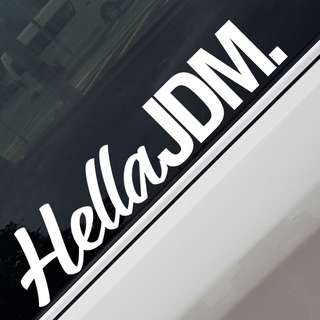 Hella JDM Car Sticker Decal