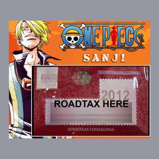 Road Tax Sticker One Piece - SANJI