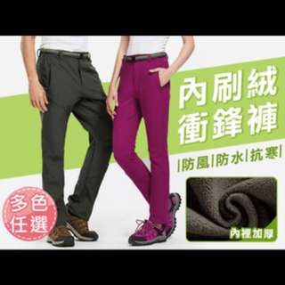 防風褲-黑色