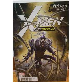 X-MEN: GOLD #11 Venomized Villains Variant Cover / 2017 Marvel Comics