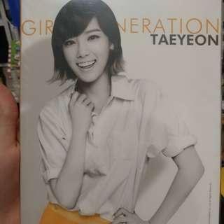 Taeyeon everysing notebook