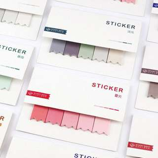 Colour Wheel Sticky Notes