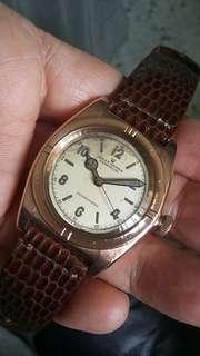 Rolex Bubbleback 18k Solid Pink Gold.Ref.3131.