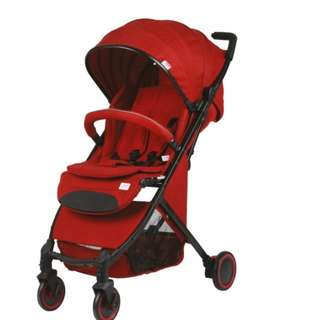 PROMO- SWEET CHERRY D288 DOLPH COMPACT STROLLER