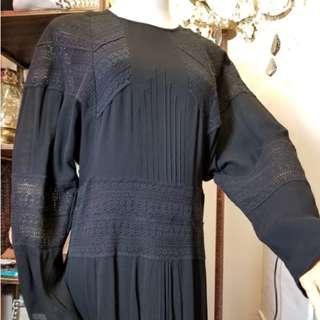 Iro Lace-Trimmed Midi Dress (有標牌)