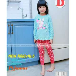 Girl Pyjamas - Suitable 18M - 2Y