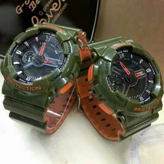 G-SHOCK COUPLE TWO TONE