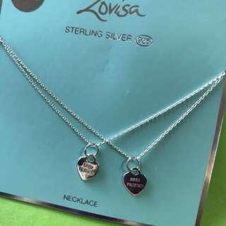 BN Lovisa 925 silver - best friend set