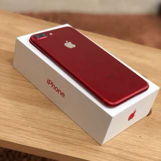 iPhone 7 plus 256GB Red Edition iBox
