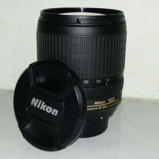 Nikon 18-105mm F3.5-5.6 VR Lens